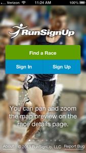 RunSignUp Mobile App