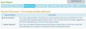 Direct Payment Setup