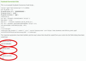RunSignUp Conversion Code Setup