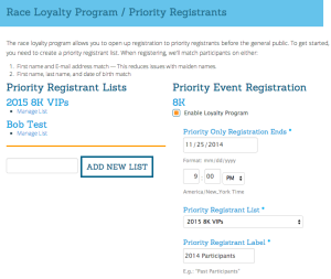 Loyalty Program Setup