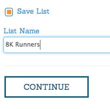 Save Lists