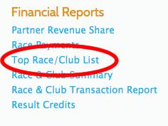 Top Race List