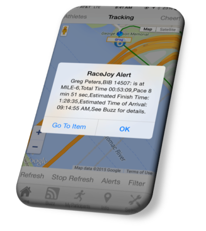 Cherry Blossom Ten Mile Run – GPS Progress Alert in RaceJoy
