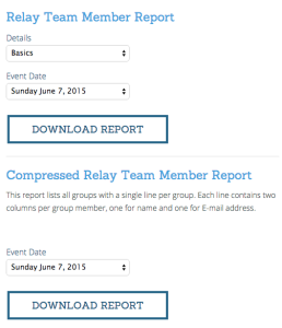 Triathlon Relay Compressed Report