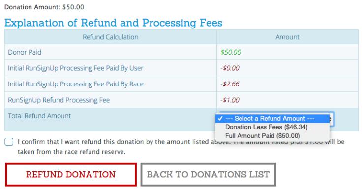 Donation Refund