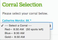 Corral Selection