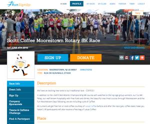 Race Website Theme