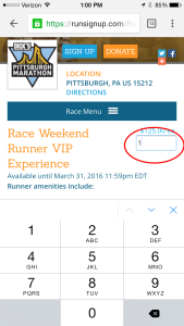 Race Website Native Mobile