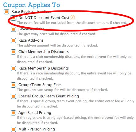 Runsignup coupon code