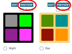 Race Website Color Preview
