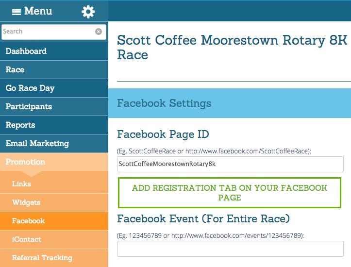 Facebook Page Setup