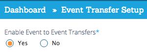 Event Transfer