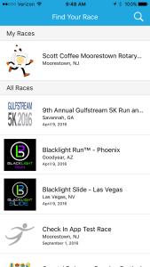 Check-In App – Now Native for Apple & Android – RunSignup