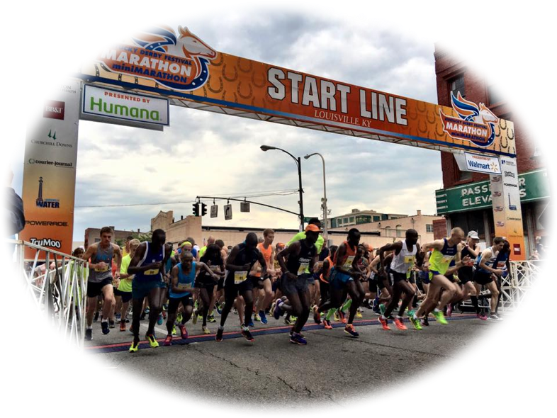 Kentucky Derby Festival Marathon Offers Two Forms of RunnerTracking