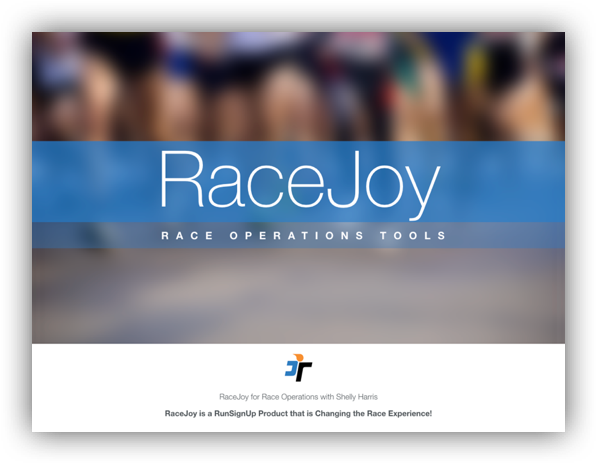 Get the Scoop on the RaceJoy Tools Available for the Race Operations Team!