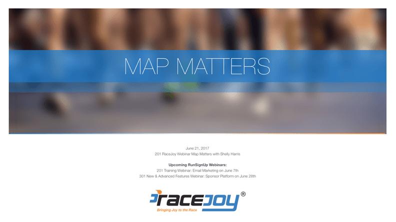 Map Matters